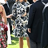 Princess Eugenie Wearing Erdem at Royal Ascot