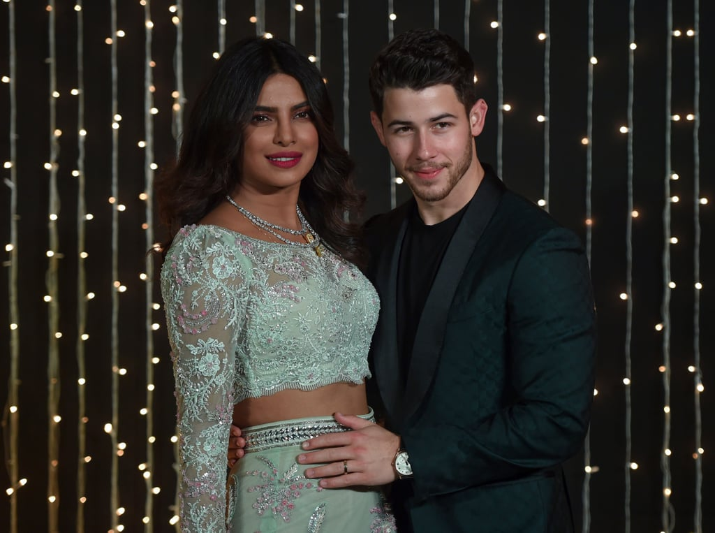 Priyanka Chopra And Nick Jonas Third Wedding Reception Popsugar