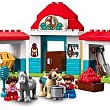 Lego Duplo Town Farm Pony Stable Toddler Building Set