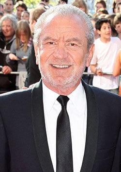 Sum Up Of This Morning's News Stories Including Sir Alan Sugar's New Junior Apprentice Series