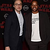 Pictured: Zach Braff and Donald Faison