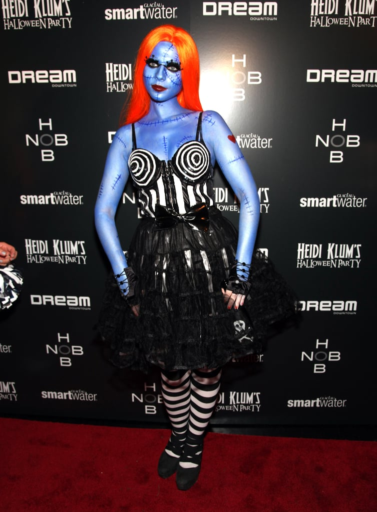 Michelle Trachtenberg's Nightmare Before Christmas look in 2011 was eerily realistic.