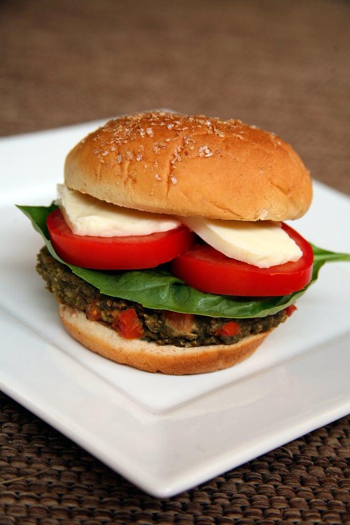 Caprese Veggie Burger