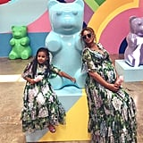 Beyonce and Blue Ivy's Mother's Day Pictures 2017