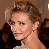 Cameron Diaz posed on the red carpet at the Met Gala.