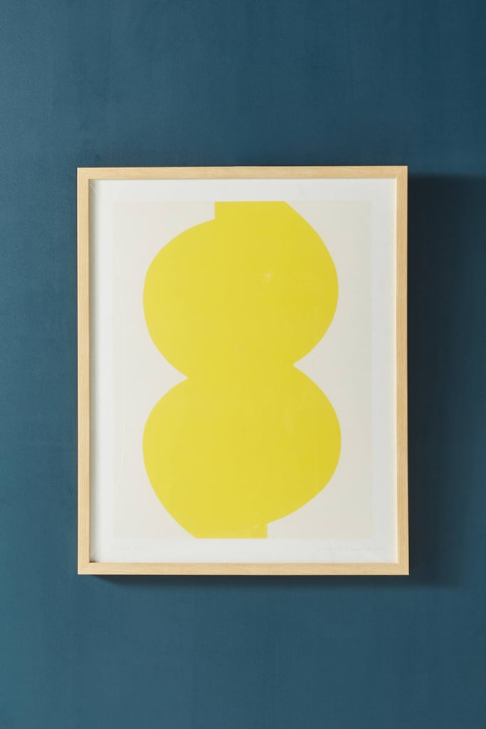 Get the Look: Yellow Form Wall Art