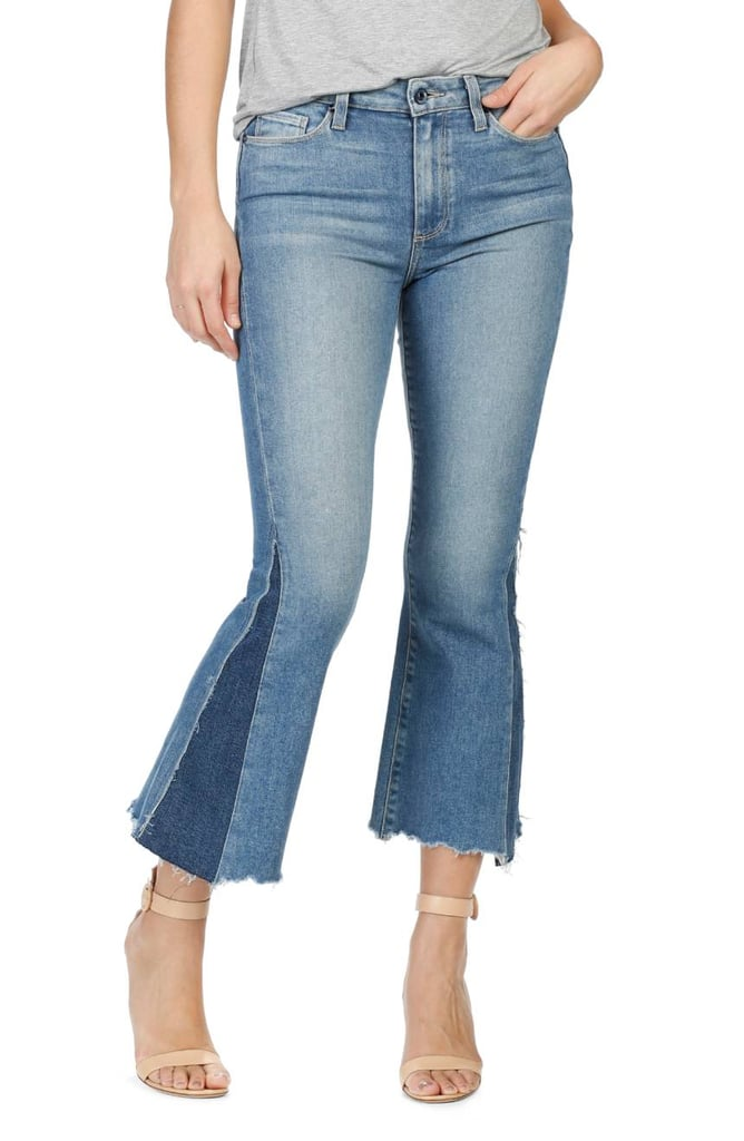 Paige Crop Flare Jeans