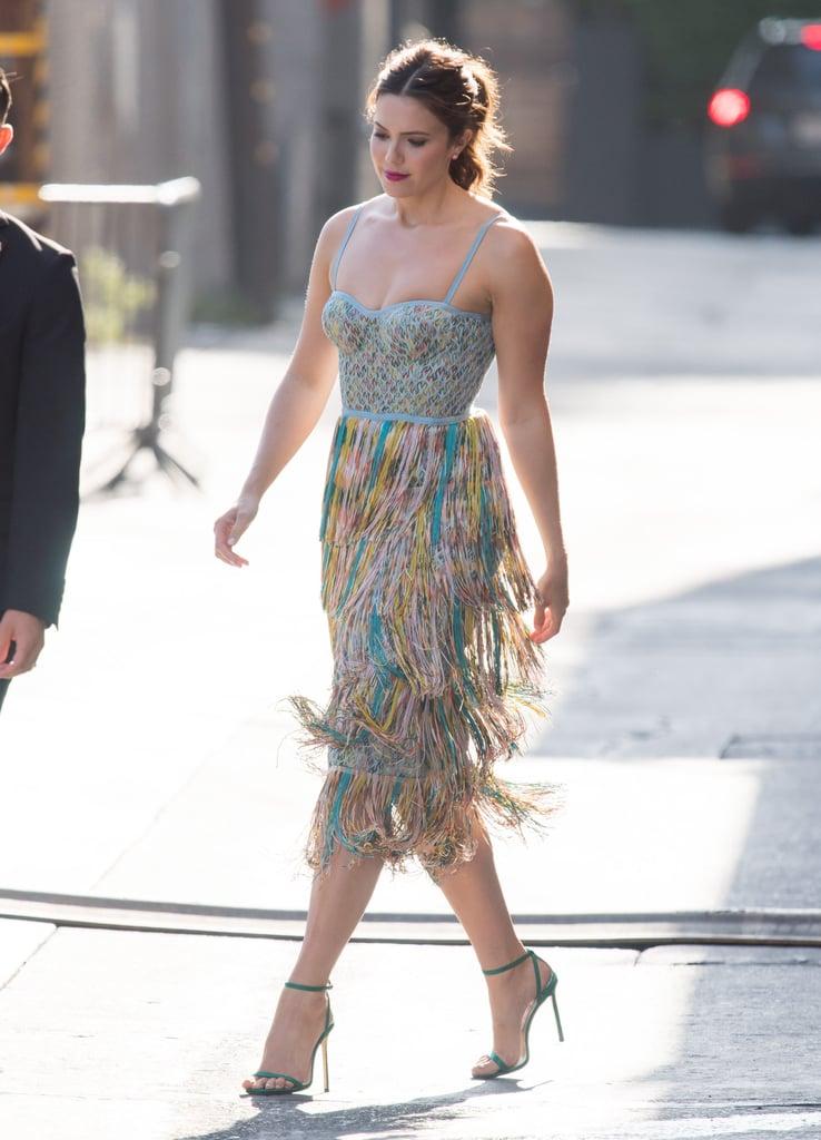 Mandy Moore's Fringe Missoni Dress