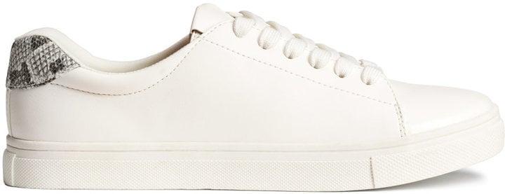 H&M Sneakers — White — Ladies ($30)