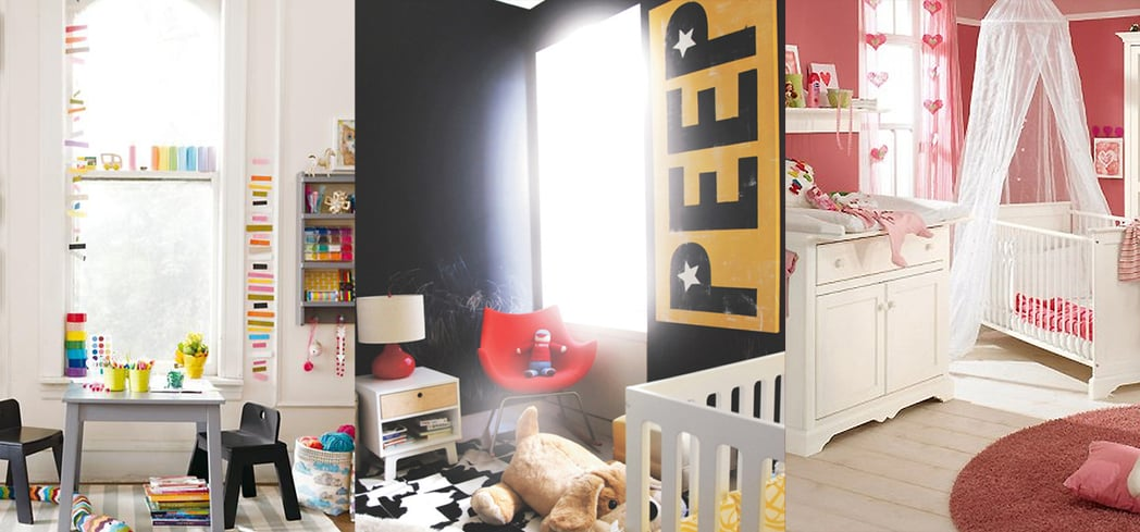 6 Color Inspirations For Kids' Rooms