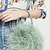 Loeffler Randall Zadie Feather Circle Tote Bag