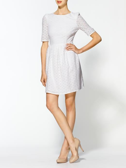 This formfitting lace dress feels right on the money for a Summer fete.  Jarlo Rosemary Lace Dress ($99)