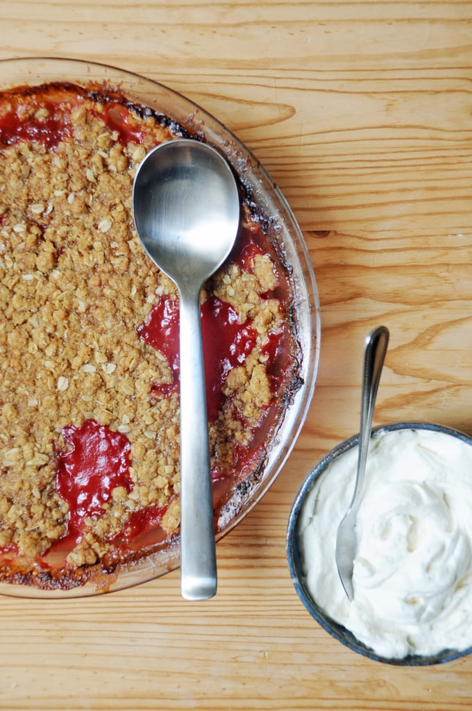 Cardamom-Spiced Crumble