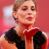 Actress and model Sveva Alviti attends the premiere of A Dangerous Method.