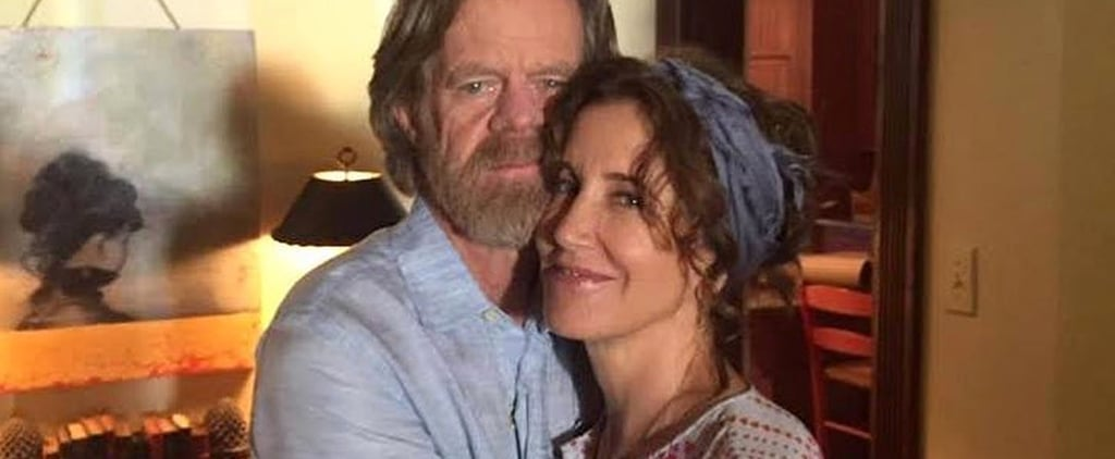 Felicity Huffman and William H. Macy Throwback Photo