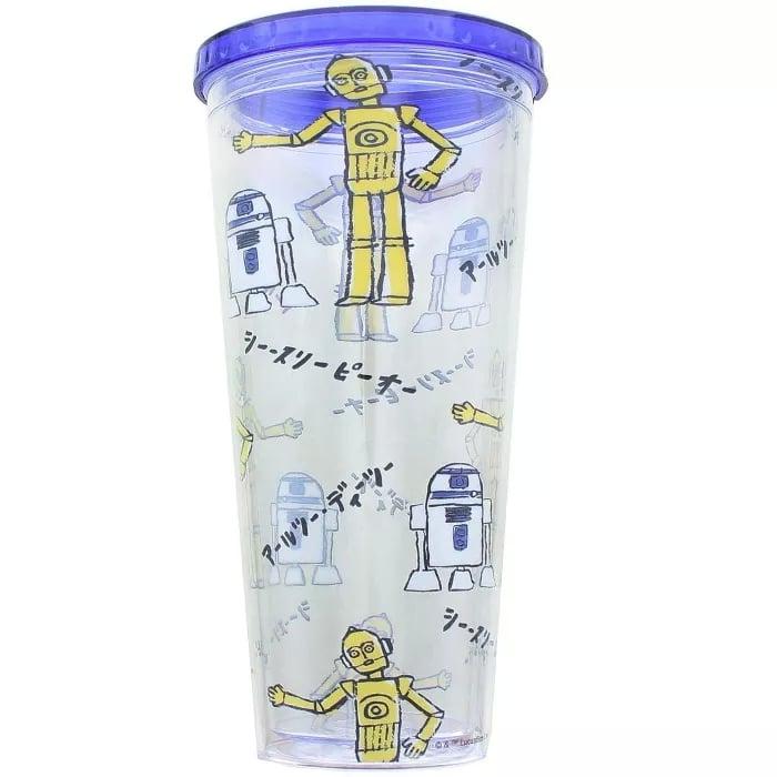 Seven20 Star Wars Kanji Droids Plastic Tumbler