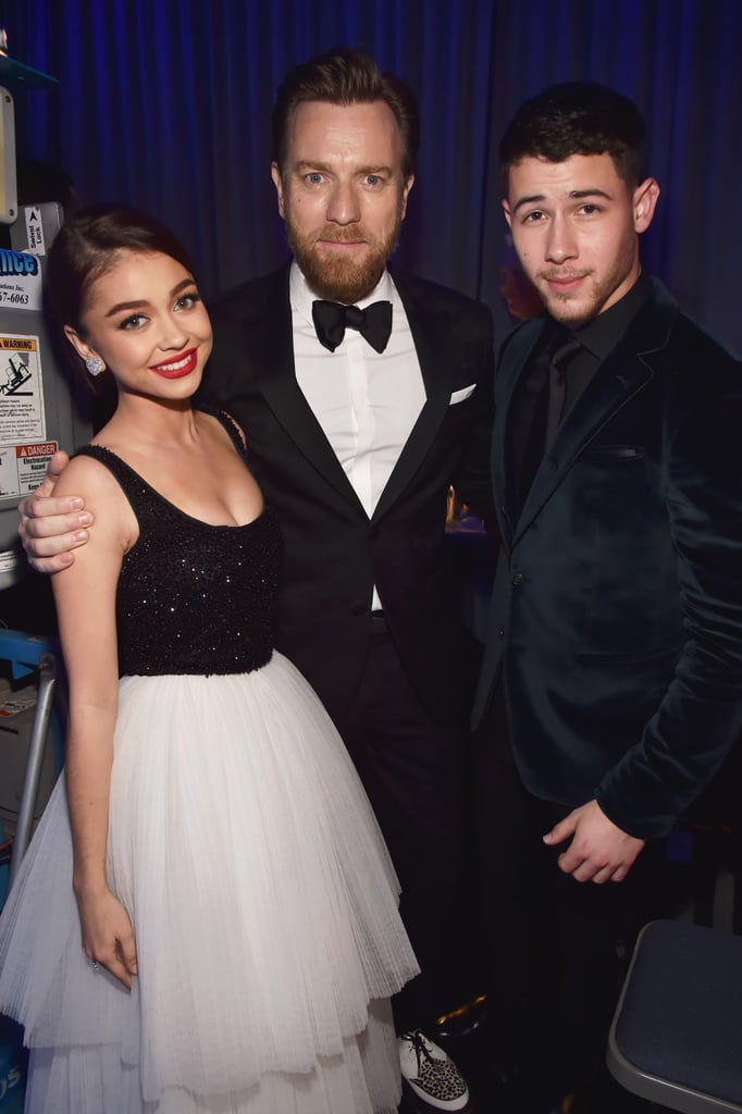 Pictured: Sarah Hyland, Ewan McGregor, and Nick Jonas