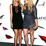 Gwyneth had a laugh with Amanda de Cadenet as they arrived at the launch celebration for The Conversation in NYC in May 2012.