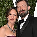 Jennifer Garner and Ben Affleck arrived at the Vanity Fair Oscar party.