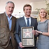 The Mentalist executive producer Bruno Heller, Simon Baker, and Naomi Watts took pictures at the ceremony.