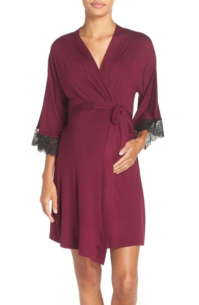 Belabumbum Ruby Jersey Maternity Robe