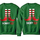 Mommy and Daddy Elf Matching Set