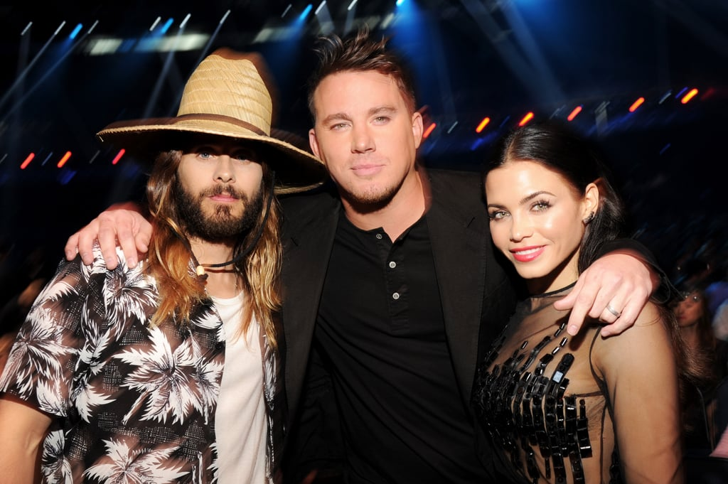 Channing Tatum and Jenna Dewan got in on a pic with Jared Leto.