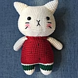 Handmade Crochet Cat ($25)