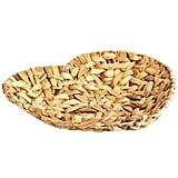 Natural Wicker Heart Basket