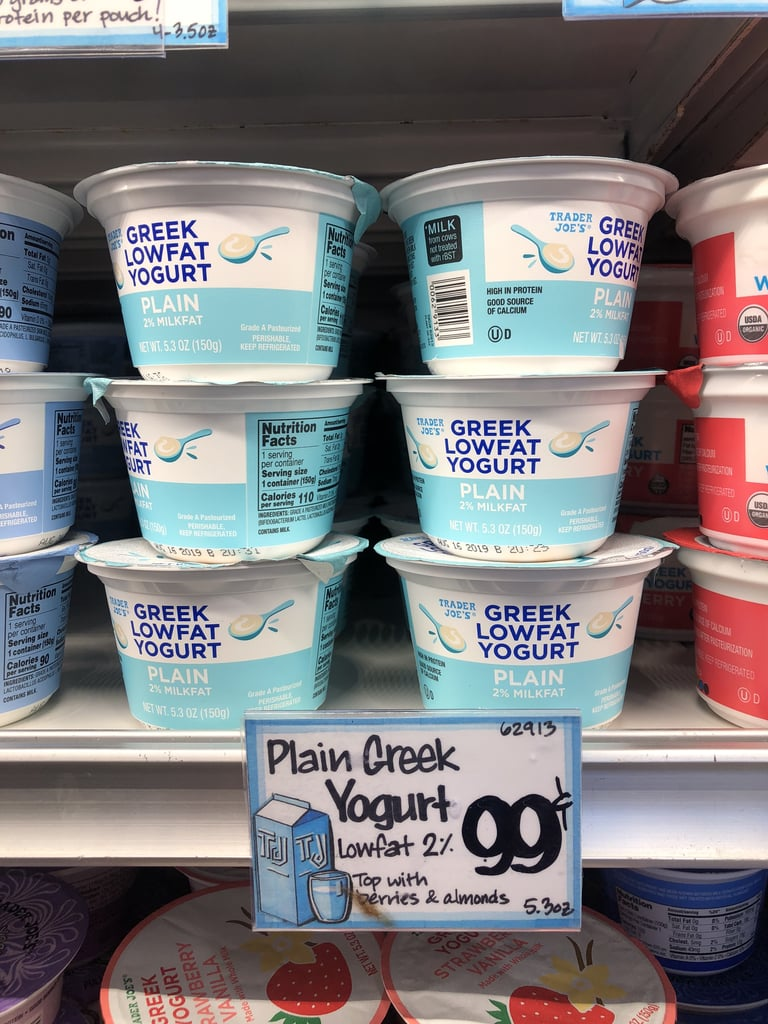 Plain Greek Low-Fat Yoghurt ($1)