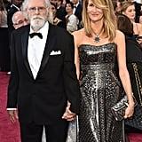 Laura Dern's Oscars date was her A-list father, Bruce Dern.