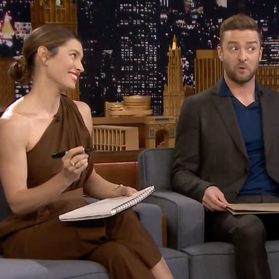 Justin Timberlake and Jessica Biel on The Tonight Show 2018