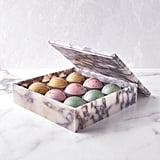 Flair Chocolatier Marble Belgian Chocolate Truffle Box, 9 pc.