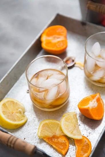 Ginger Maple Bourbon Cocktail