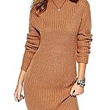 Clothink Cable-Knit Sweater Dress