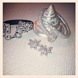 Holy diamonds! Miranda Kerr gave us a sneak peek at her amazing Cartier jewels. Source: Instagram user mirandakerr