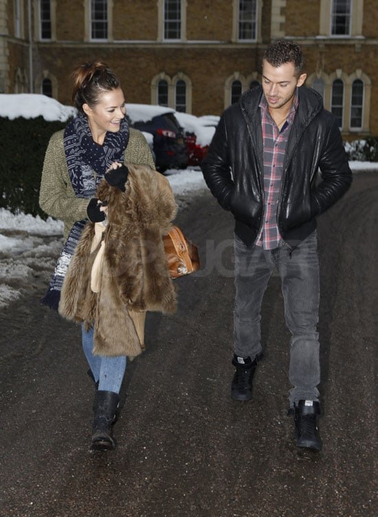 Kara Tointon and Artem Chigvintsev couldn't contain their smiles as they shopped at Brent Cross today. The couple met through Strictly Come Dancing, and they found love as well as victory on the show. Kara's a popular winner and is no stranger to dancing success, as she won the Sport Relief version in 2008. The former Eastenders actress and her pro partner Artem went public with their relationship this weekend, and his ex-wife has been talking about him already. Artem's star is certainly rising, and he's a hot topic for conversation, judging by his Cosmo naked centrefold photoshoot.  Nick Obank / Barcroft Media