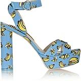 Sophia Webster Amanda Printed Faille Sandals ($395)