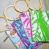 These tiny clutches are perfect for the essentials. Who wants to lug around a big bag in the heat?