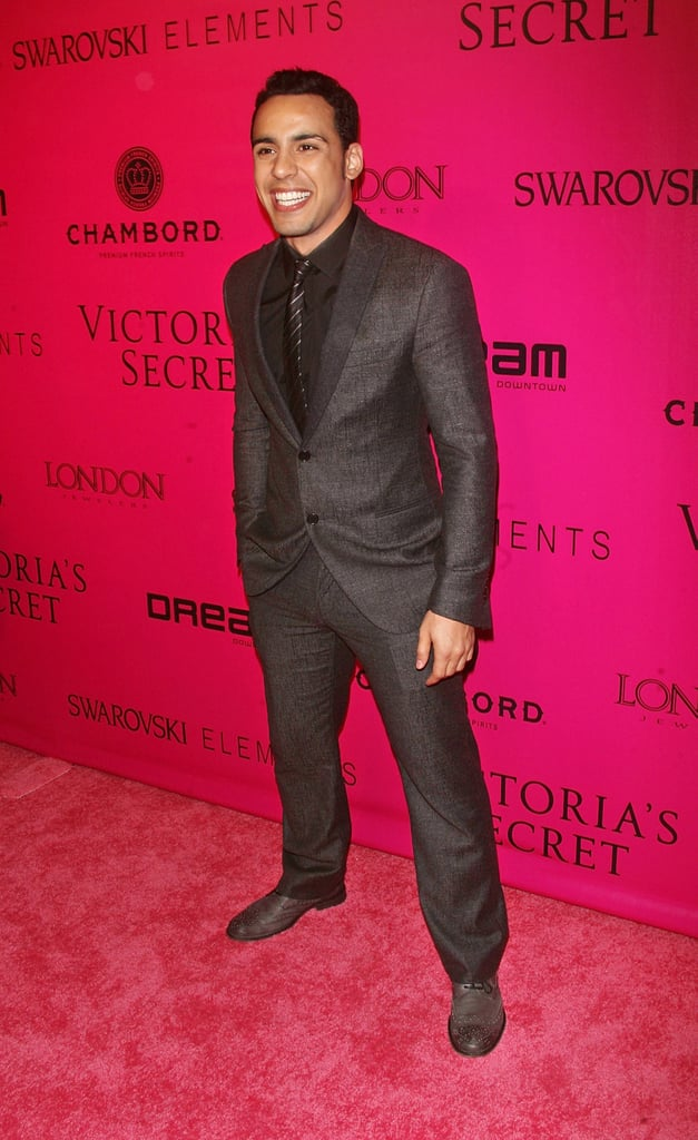 Victor Rasuk was thrilled to walk the pink carpet at the Victoria's Secret afterparty.