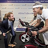 Prince Harry at ICAP Charity Trading Day December 2016