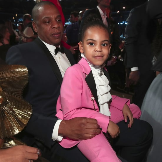 Blue Ivy at the Grammys 2017 (Video)