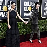 Sian Clifford and Phoebe Waller-Bridge at the 2020 Golden Globes