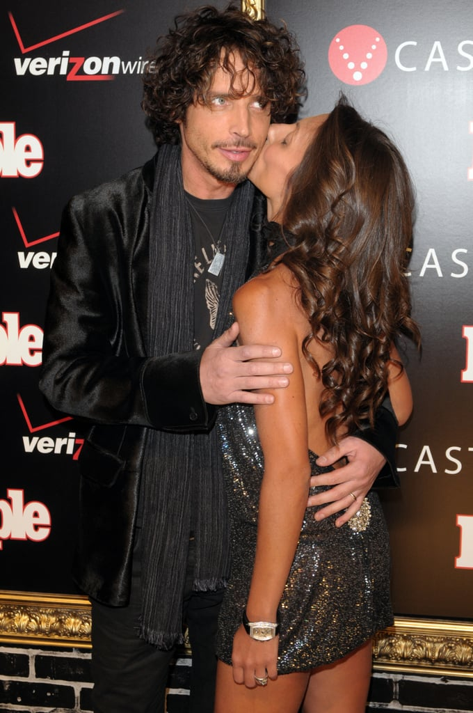 these sweet photos of chris cornell and his wife will