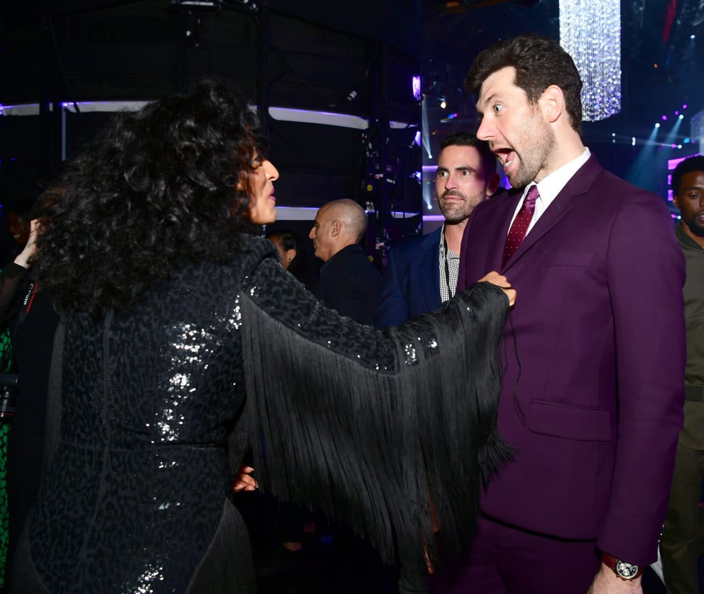 Pictured: Tracee Ellis Ross and Billy Eichner