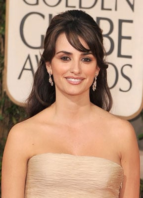 2009 Golden Globe Awards: Penelope Cruz
