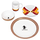 Harry Potter Hogwarts House Porcelain 16-Piece Dinnerware Set