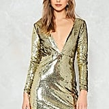 Nasty Gal Venus Sequin Mini Dress