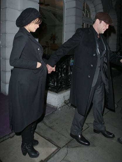 Pictures of Pregnant Penelope Cruz and Javier Bardem in London