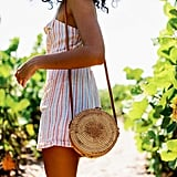 Urban Outfitters Rattan Mini Circle Bag
